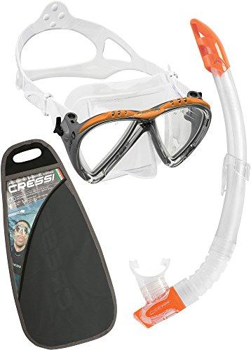 Cressi Lince & Gamma, clear/orange