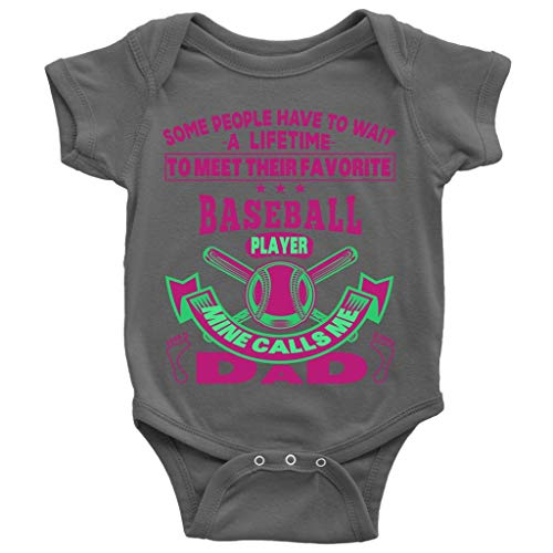 I Am A Baseball Player Baby Bodysuit, Baseball