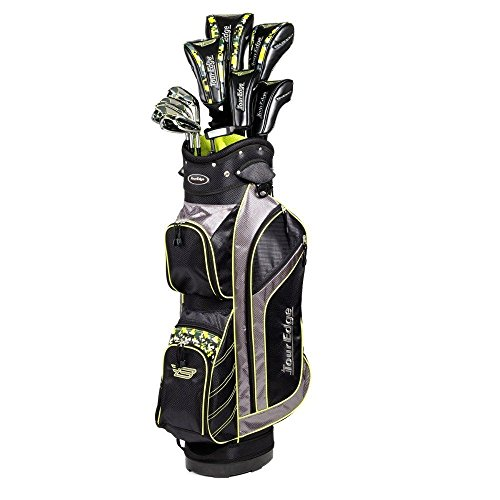 - Tour Edge Golf Bazooka Graphite Box Full Golf Club Set, Black