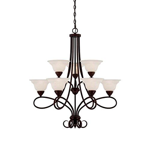 (Savoy House 1-121-9-13 Nine Light Chandelier)