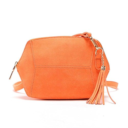 Bag Shoulder Handbag Orange Bags Body by Satchel Bags NEWONESUN Women��s Cross Tote Hobo tOIgqnR