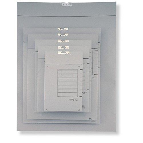 22'' x 26'' Capacity Jalema Grafi-System Grey Repro-File (Box of 50)