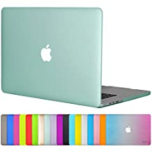 "Easygoby Matte Frosted Silky-Smooth Soft-Touch Hard Shell Case Cover for Apple 15.4""/ 15-inch Macbook Pro with Retina Display (Model: A1398) - Green"