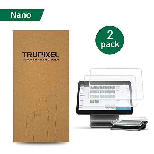 4XG TruPixel Nano Screen Protector Compatible with Square Register - Clear (2-Pack) ()