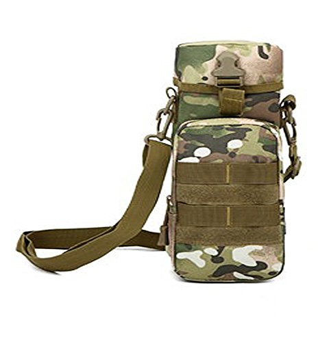 TOVOT Tactical Single Shoulder Bag Outdoor Camping Riding Bag Pocket Multifunctional Pack (CP)