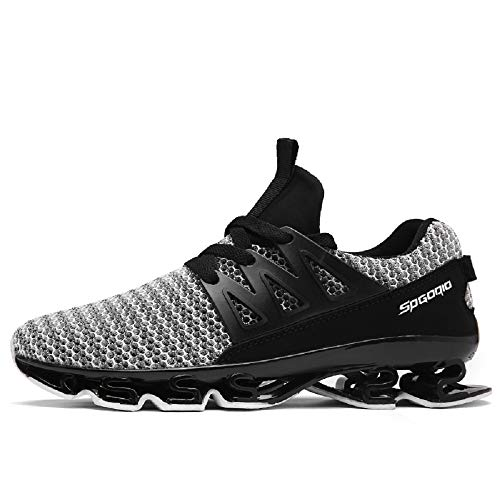 purchase cheap 22d0b db72e AHICO Mens Running Shoes Men s Breathable Sports Sneaker Casual Walking for  Men Breathable Mesh Trail Blade