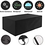Patio Furniture Covers, 213x132x74 cm,420D Oxford Large Outdoor garden Furniture Cover ,Table Covers ,Waterproof Dust Proof Anti UV Wind