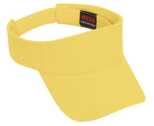Hats & Caps Shop Pique Knit Sun Visor - Maize - By TheTargetBuys (Maize Fedora Hat)