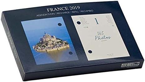 DRAEGER 71002020 Nachfüllpack Ephéméride Agenda Yvon France 2019