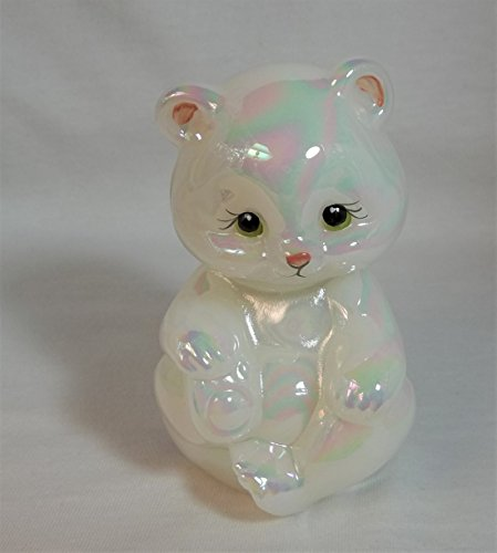 Fenton Art Glass - Bear - Hand Painted - American Made (Fenton Crystal Bear)