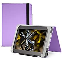 "Fire HD 7 Case (2014 model), Purple,  Nupro, Standing Case, Protective Cover (4th Generation: 7"")"