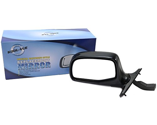 Kool Vue FD25L Ford F-Series Driver Side Mirror, Manual, Chrome