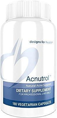 Designs for Health Acnutrol Capsules, 180 Count
