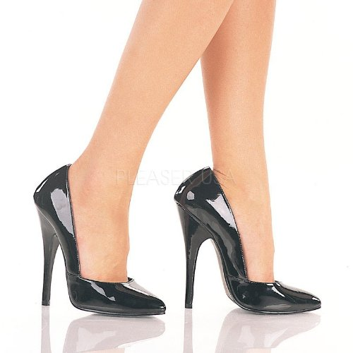 UK sexy EU 5 high extreme 423 35 2 11 Size heels pumps Domina US sizes fetish 2 Pleaser ExfqnwaB7Z