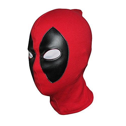 ZjpMask 2016 Deadpool Mask Leather Balaclava X-Men Halloween Costume Hood Cosplay by Skroutz for $<!--$22.95-->
