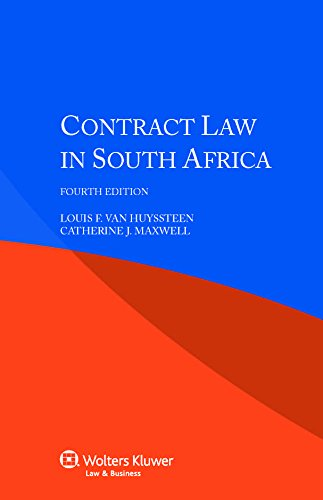 Contract Law in South Africa by Wolters Kluwer Law & Business