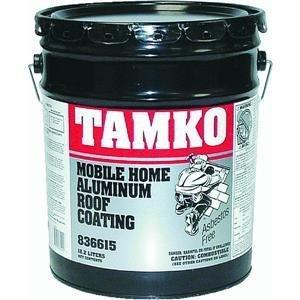Amazon Com Tamko Mobile Home Aluminum Fiber Roof Coating