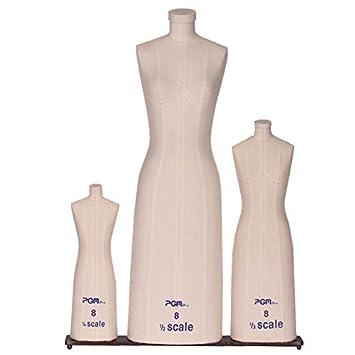 Amazon.com: PGM Professional Miniature Half Scale Dress Form 3 ...