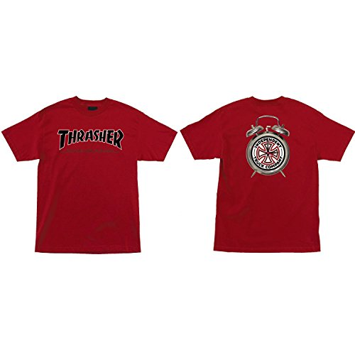 Independent Skateboard Shirt Thrasher TTG Cardinal Red Size XL