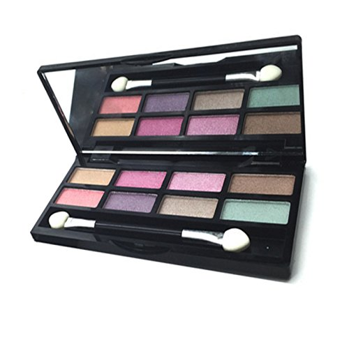 Hot 8 Colors/12g Professional Cosmetic Eyeshadow Palette Eye Shadow Makeup Eyeshadow Palette Makeup Kit (#02) for cheap
