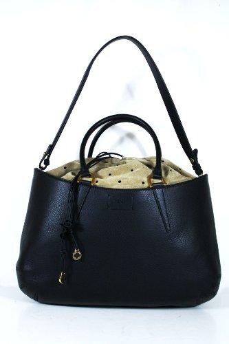 Fendi Handbags Black Leather 8BN237 Purse (CLEARANCE)