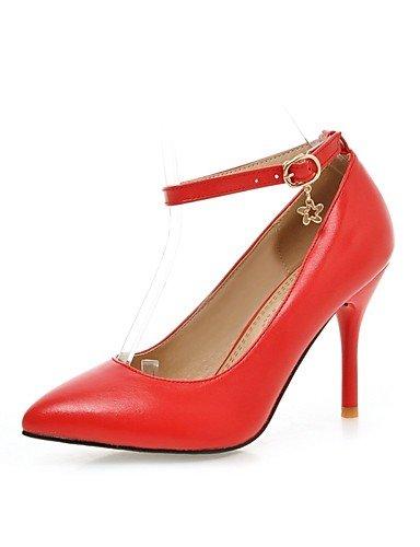 ZQ zapatos de las mujeres de la PU de oficina tacones tac¨®n de aguja / talones del dedo del pie en punta&?carrera / ocasional negro / , pink-us10.5 / eu42 / uk8.5 / cn43 , pink-us10.5 / eu42 / uk8.5 pink-us8 / eu39 / uk6 / cn39