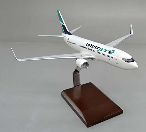 Westjet 737-800 1/100 New Livery by Executive Series Display Models (Image #1)