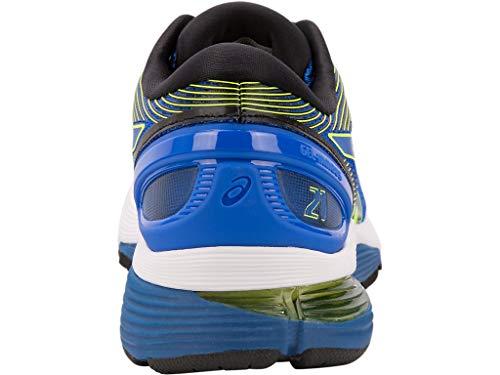 ASICS Men's Gel-Nimbus 21 Running Shoes, 7M, Illusion Blue/Black by ASICS (Image #4)