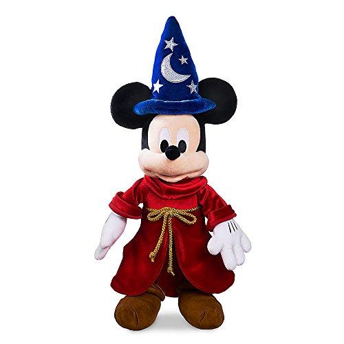 Disney Fantasia Mickey Mouse (Disney Sorcerer Mickey Mouse Plush - Fantasia - Medium)