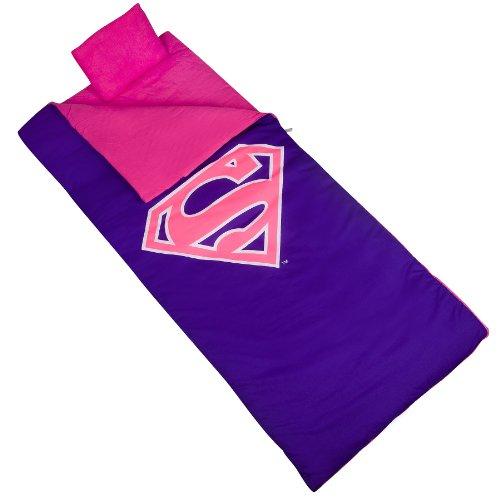 Wildkin Sleeping Bag, Superman, Pink ()