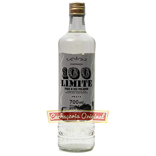 Cachaça 100 Limite prata 700ml