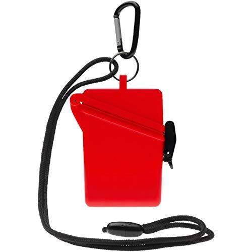 Witz Surf Safe - Witz Sport Cases Surf-Safe Slim Dry Box - Waterproof Box Red