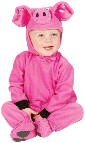 Charades Costume - Little Pig - 6-18 (Baby Pig Halloween Costumes)