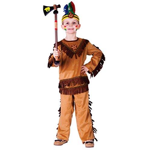 India (Indian Warrior Boy Costume)