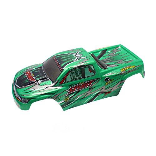 HOSIM RC Car Car Shell Body Accessory Spare Parts 30-SJ03 for Hosim 9130 RC Car (Green)