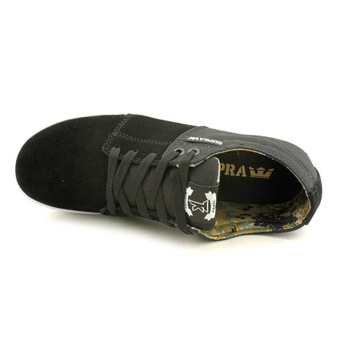 Sneaker SUPRA SUPRA Mens Black Mens Camo white Stacks PvOxwIO