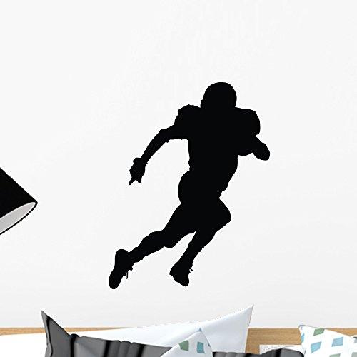 Wallmonkeys Football Silhouette Style 38 Wall Decal Peel and Stick Graphic WM269316 (18 in H x 14 in W) by Wallmonkeys (Image #4)
