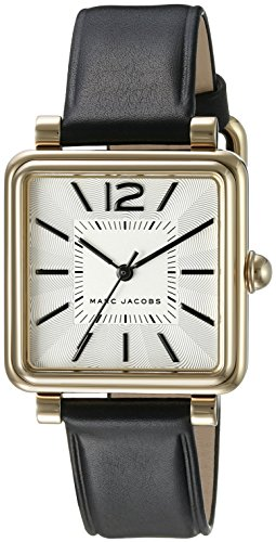 Marc Jacobs Women's Vic Black Leather Watch - MJ1437 ()