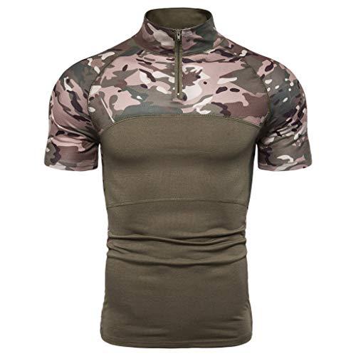 Tronet Men's Military Rapid Assault Sleeve Slim Fit Long Sleeve Combat T-Shirt (Best Paintball Jersey 2019)