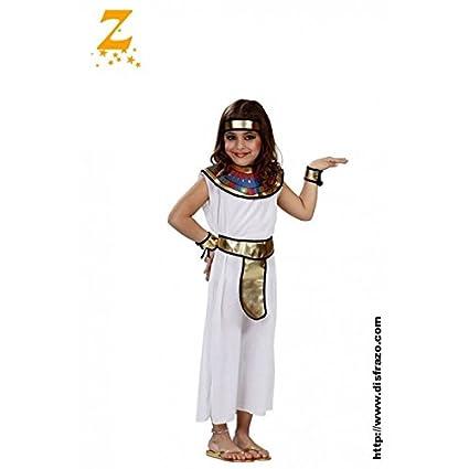 Disfraz de egipcia para niña - 4-6 años: Amazon.es: Juguetes y juegos