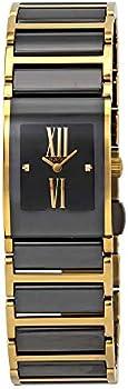 Rado Integral Jubilee Black Dial Ceramic Ladies Watch