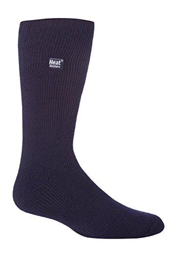 Mens Bigfoot Original Thermal Heat Holders Socks 13-15 Us Navy Blue