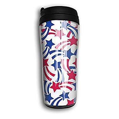 Moving Stars Vacuum Insulated Leak Flexible Portable Travel Coffee Mug For Home Office School Ice Drink Hot Beverage Cup 8oz Coffee Cup Travel Mug Travel Cup With Curve