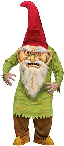 Fun World Big Head Evil Gnome Costume - Standard - Chest Size 33-45]()