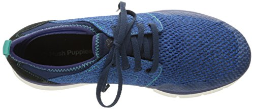 Hush Puppies Mens Luton Speed Oxford Blue Mesh