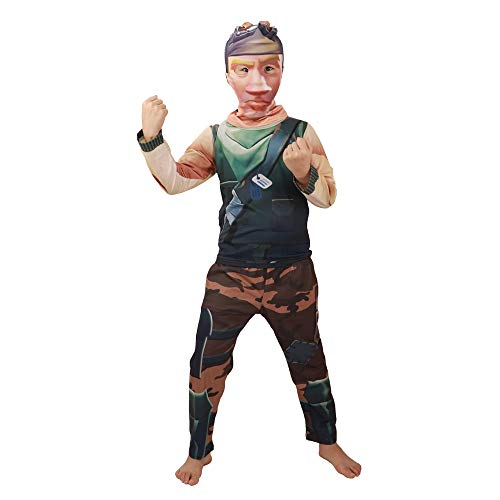 (Boys' Pajamas Soldier Costume Party Christmas Cosplay Costume with)