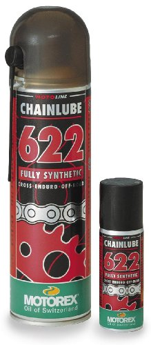 Chain Lube 622 Offroad Spray - 500ml., Manufacturer: Motorex, CHNLUBE 622 OFF-ROAD SPR 500ML