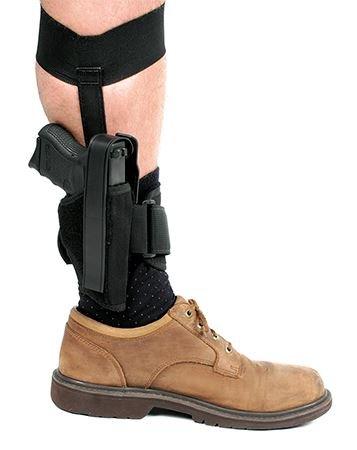 BLACKHAWK! Ankle Holster, Black/Size 12, Left Hand ()