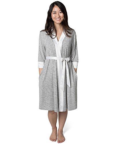 a81393dbc9657 Kindred Bravely Emmaline Maternity & Nursing Robe Hospital Bag/Delivery  Essential