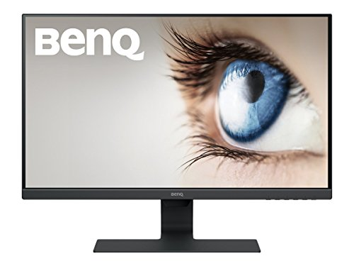 BenQ GW2780 27 Inch IPS 1080p Monitor, Ultra Slim Bezel, Low Blue Light, Flicker-free, Speakers, VESA ready, Cable Management System, HDMI